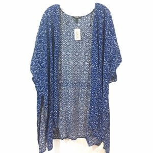 Forever 21 open woven cardigan S